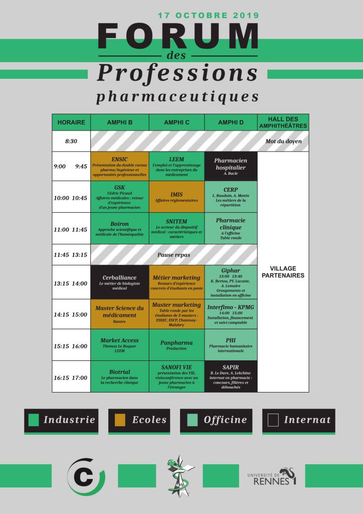 programme forum 2019